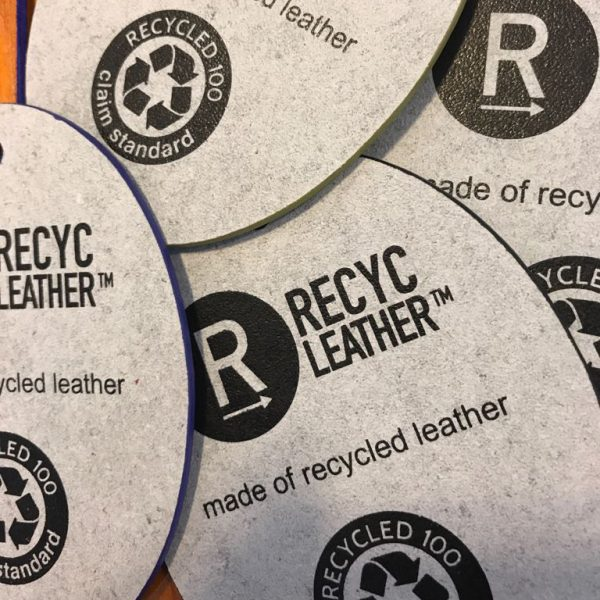 Hangtag | Market your recycled leather products with GRS certified logo