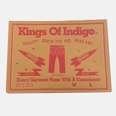 Kings Of Indigo, The Netherlands | Leather Patch for Jeans
