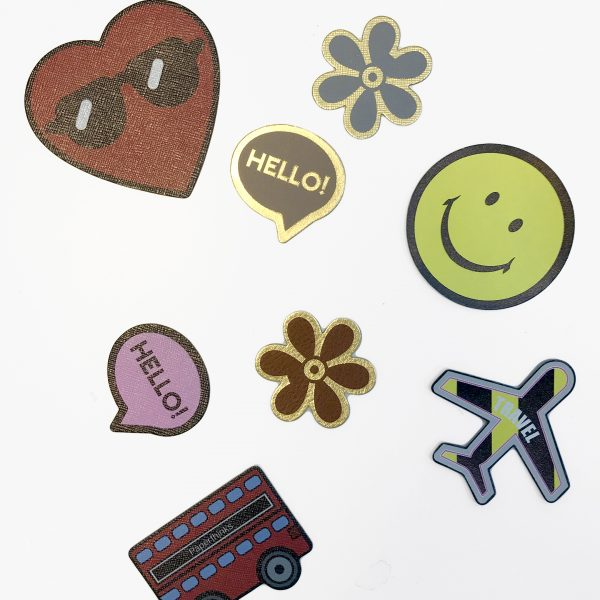 Leather Stickers